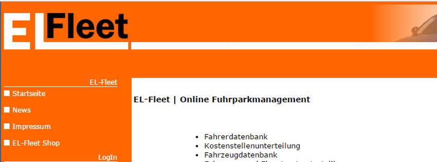 Online Fuhrpark Management